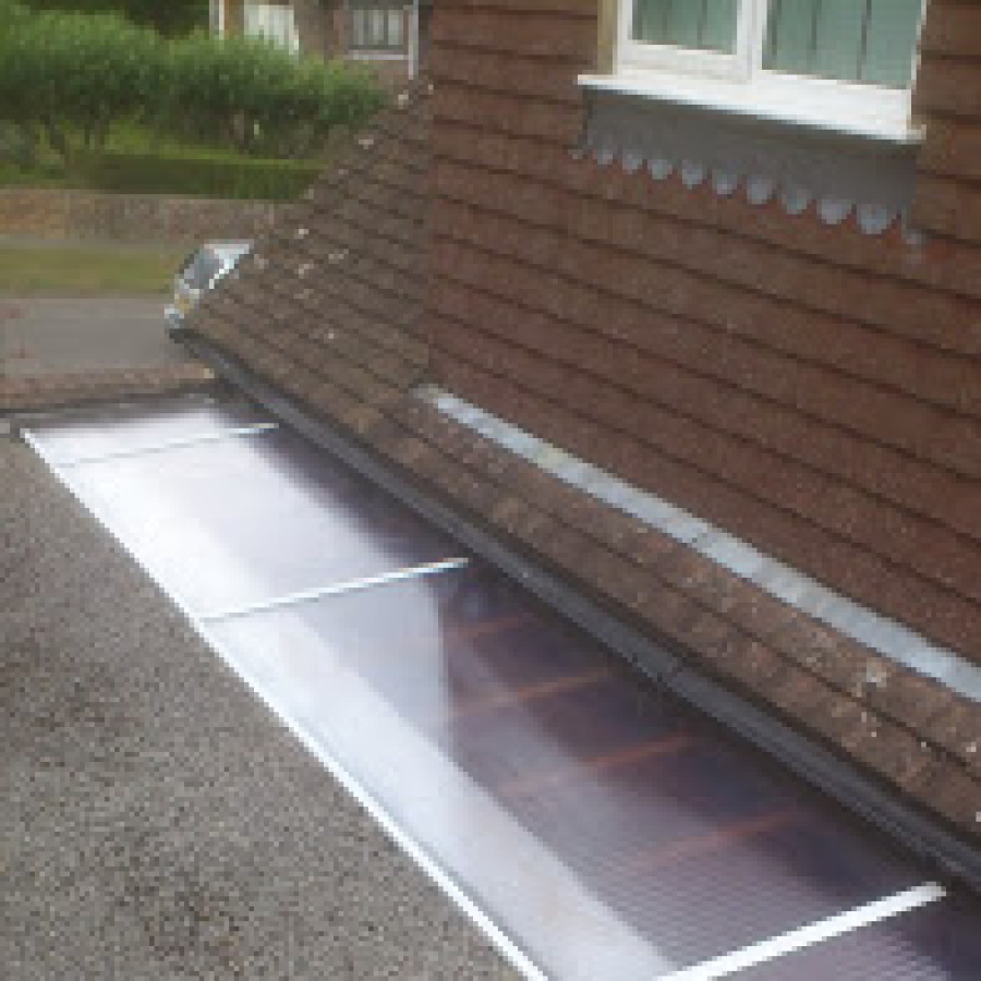 Rooflight re sealed
